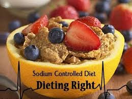 The Sodium-Controlled Diet limits sodium intake. Foods and condiments high in sodium