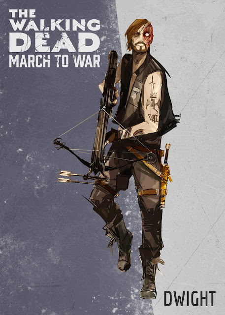 the walking dead march to war dwight