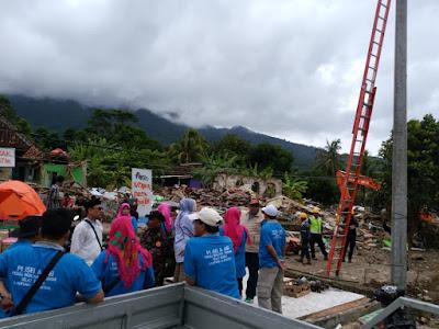 ISEI dan PI ISEI Lampung Salurkan Bantuan ke Korban Tsunami Selat Sunda