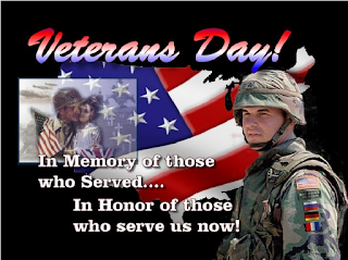veterans day in loving memory