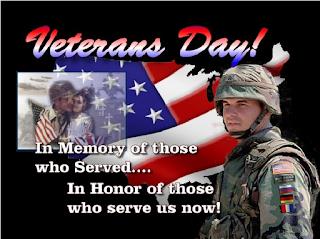 veterans day in loving memory