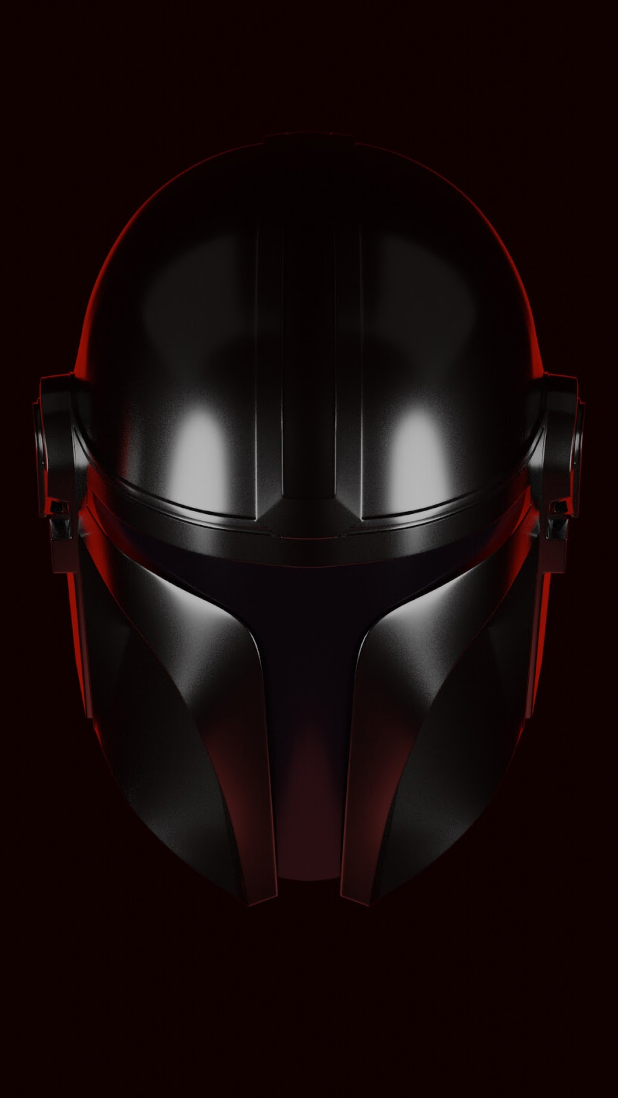 black helmet the mandalorian