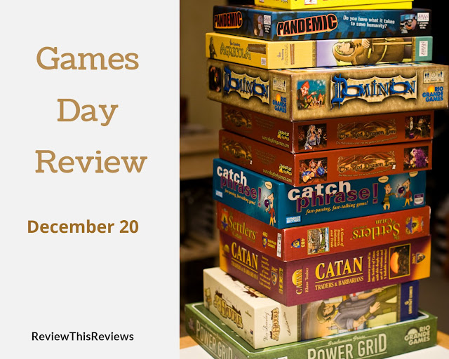 Games Day Review