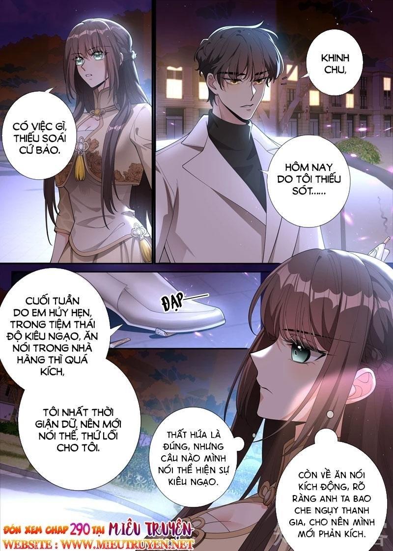 Thiếu Soái ! Vợ Ngài Lại Bỏ Trốn chap 289 - Trang 8