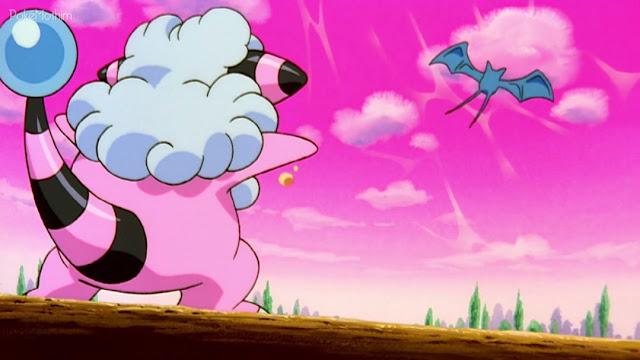 Flaaffy de Molly versus Zubat de Brock Filme 03