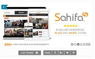 Download Theme Wordpress News Sahifa
