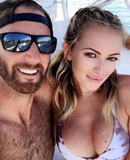 Dustin Johnson And His Girlfriend Paulina Gretzky