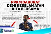 EFEK PPKM Darurat, Pemerintah Berikan Bansos Rp 300 Ribu Per Bulan
