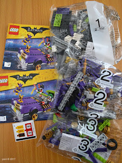 the lego batman movie - the joker notorious lowrider - one, two, three, go