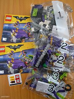 the lego batman movie - the joker notorious lowrider - one, two, three, go