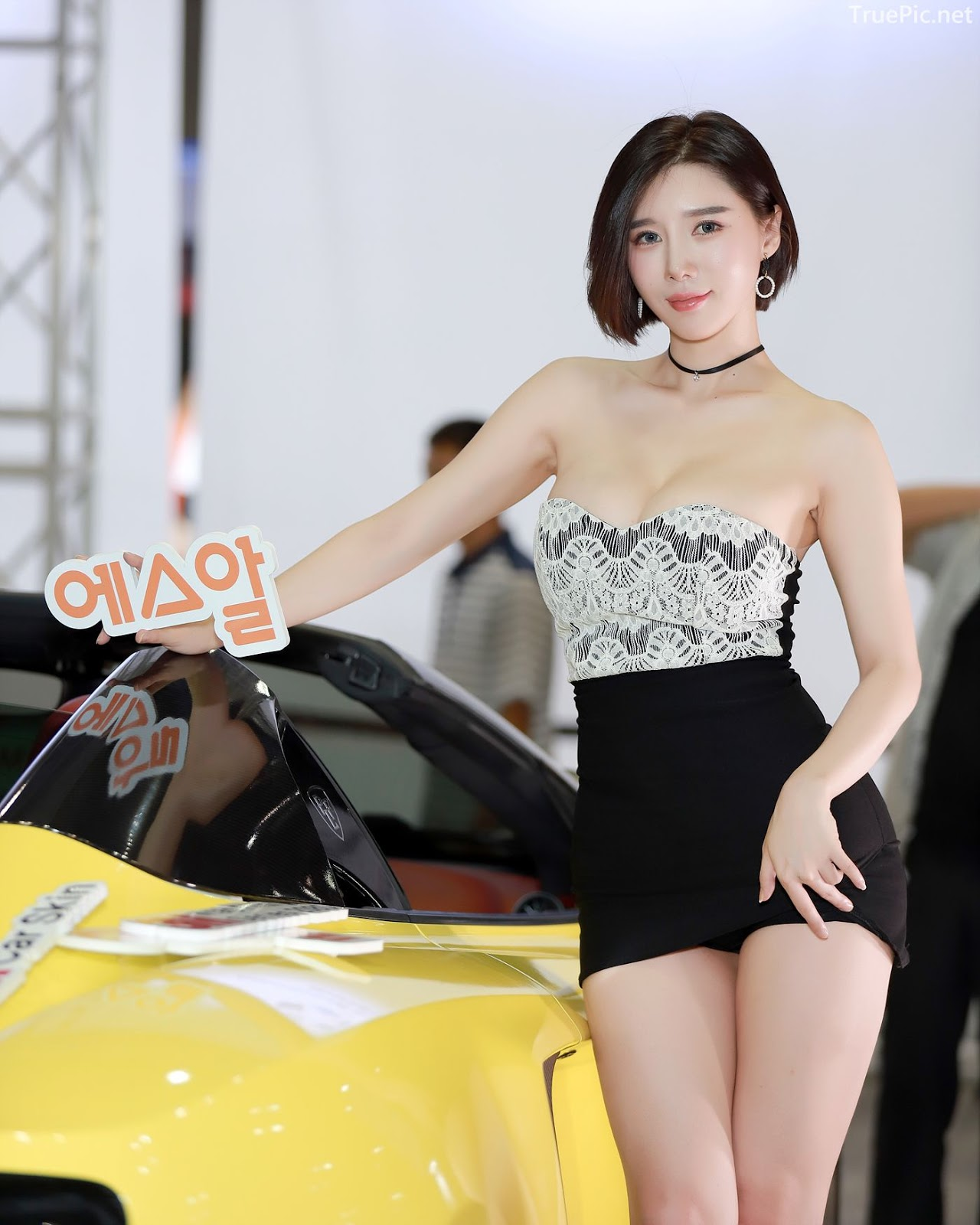 Korean Racing Model - Song Jooa - Seoul Auto Salon 2019 - Picture 3