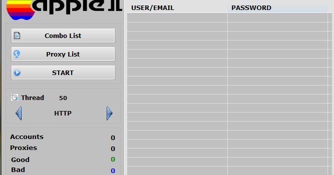 Script Apple Account Checker