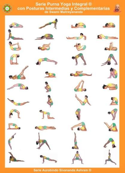 8 Cuales Son Los Kramas O Series Del Purna Yoga Integral