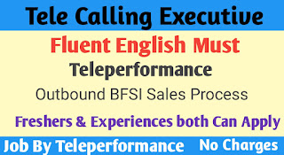 Tele calling Executive (English is must)