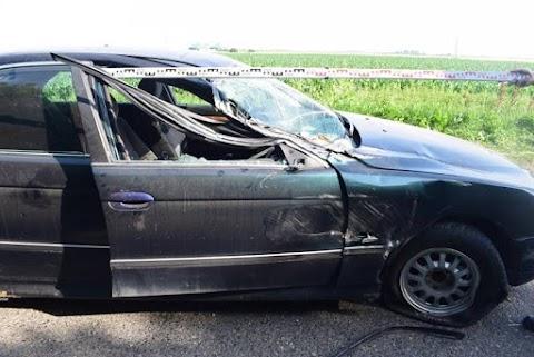 Súlyos sérüléssel járó közlekedési balesetet okozott mert nem tartott kellő követési távolságot