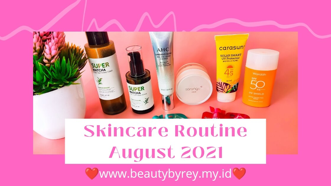 Skincare routine daily
