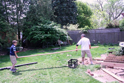 Father and son, working together :: The Deck Odyssey (All Pretty Things)