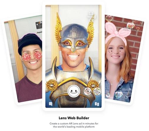 Snapchat Lens Web Builder