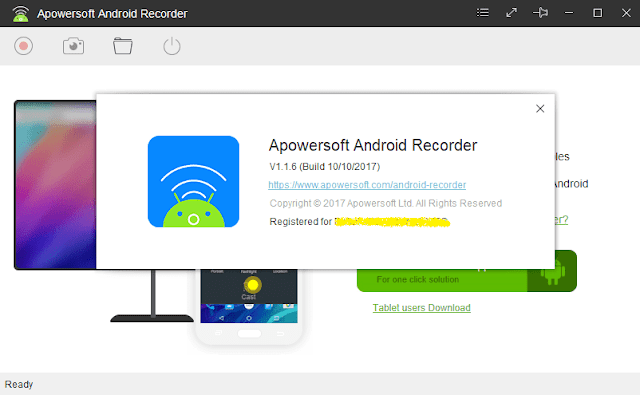 تحميل برنامج Apowersoft Android Recorder كامل