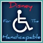 foto de cartaz onde se lê: Disney For The Handicapable