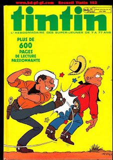 Recueil du journal Tintin, numéro 163, 1982