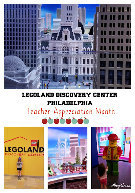 LEGOLAND Discovery Center Philadelphia, travel, teacher appreciation