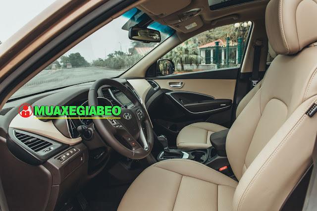 Giới thiệu Hyundai SantaFe 2.4L máy xăng phiên bản tiêu chuẩn 2WD ảnh 9
