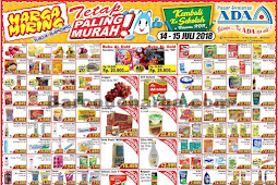 Katalog Promo ADA Pasar Swalayan Terbaru 14 - 15 Juli 2018