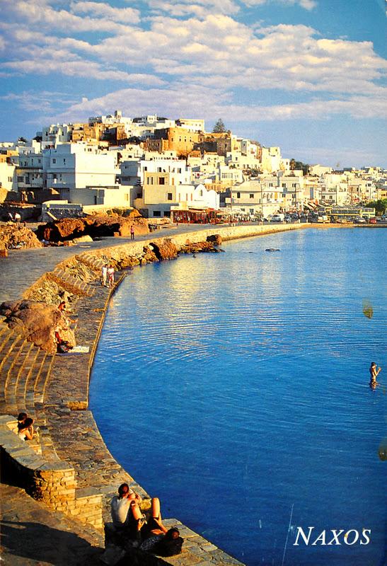 naksos w grecji
