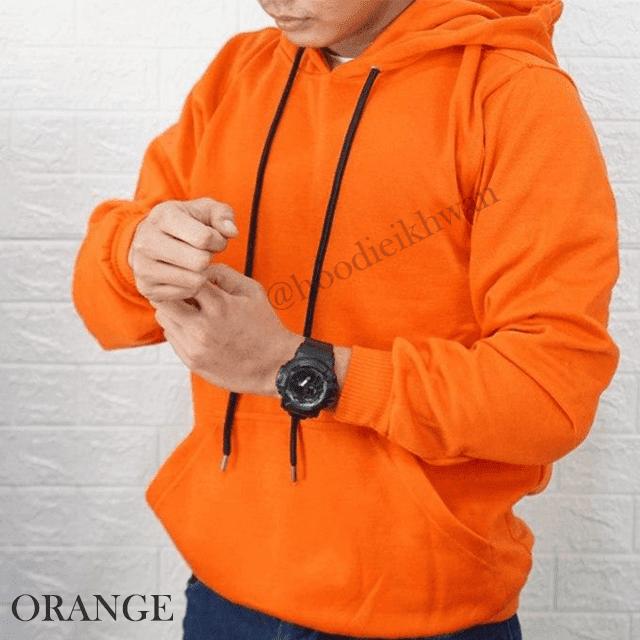 Hoodie Polos Orange