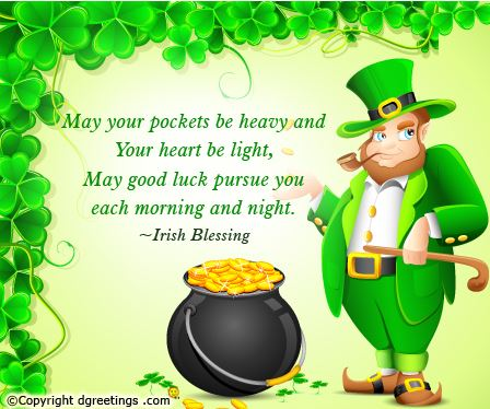2016 St Patrick's Day Sayings Wishes | Saint Patrick's Day ...