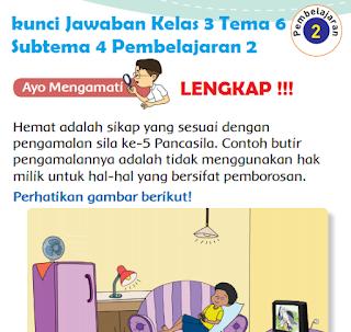 Kunci Jawaban Kelas 3 Tema 6 Subtema 4 Pembelajaran 2 www.simplenews.me