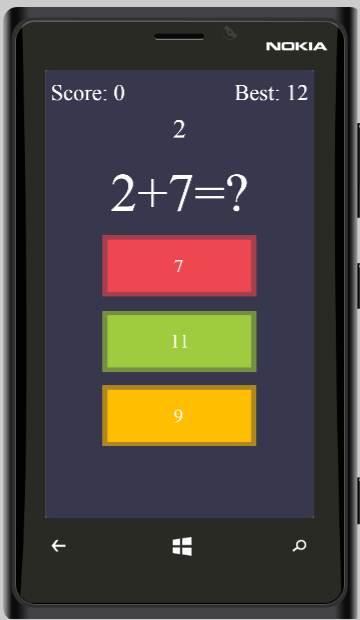 Quick Maths - HTML5 Game + Mobile Version + ADMOB-GDPR + Leaderboard + Achievement (Construct 2/3) - 2