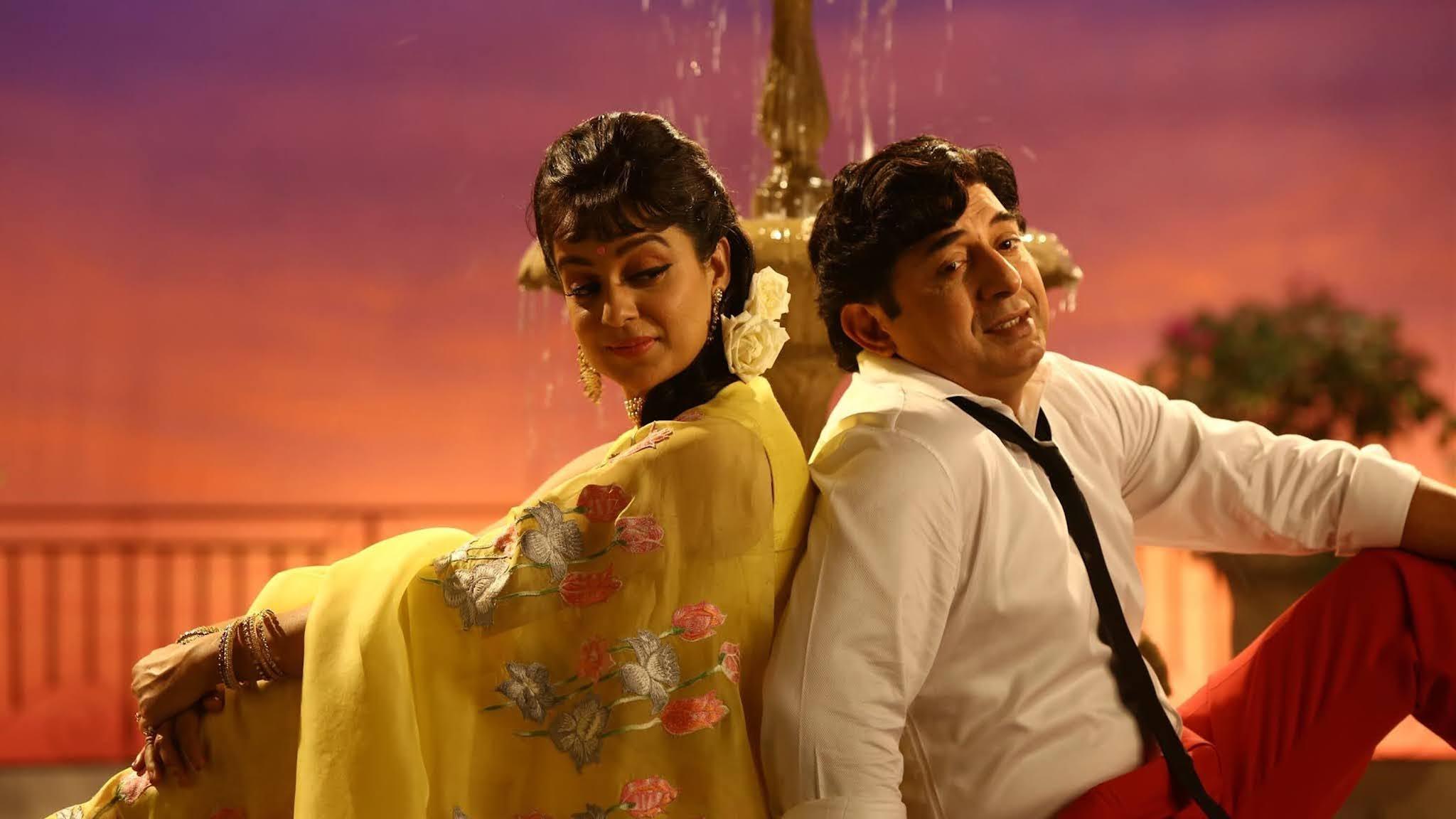Jayalalithaa dan MGR diperankan oleh Kangana Ranaut dan Arvind Swami
