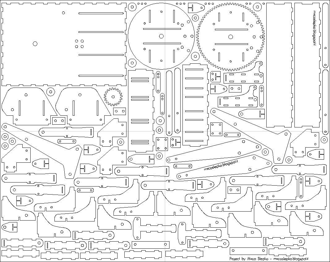 Favorito DIY - Progetti: Download progetto braccio meccanico idraulico  DY12