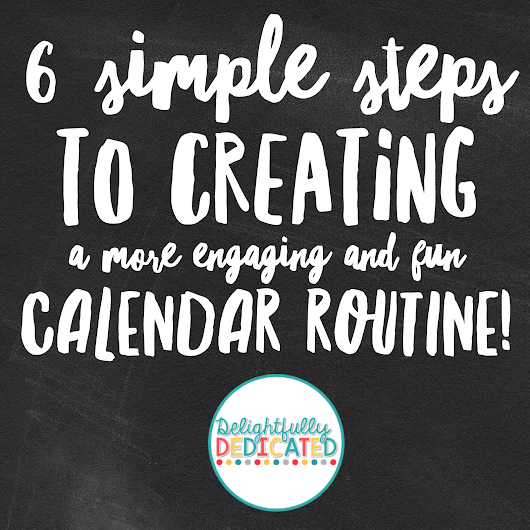6 Steps to Mix Up Your Calendar Routine