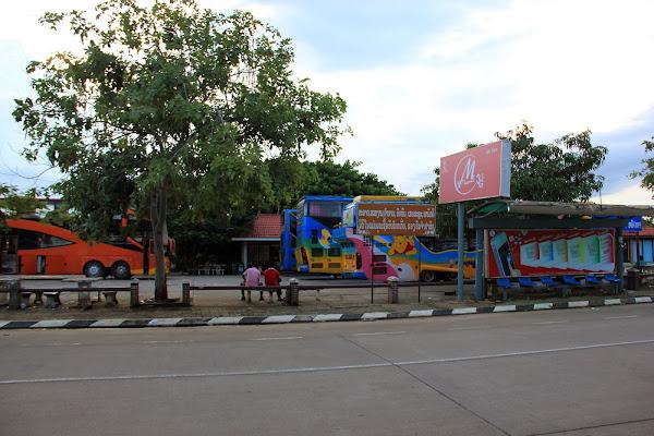 Estacion de autobuses Chitpasong en Pakse