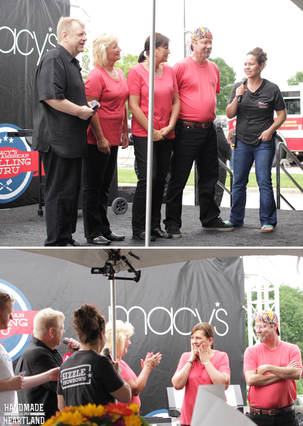Macy's Grilling Guru Semi-final competition in Kansas