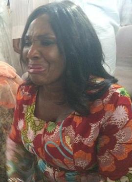 woman crying buhari victory