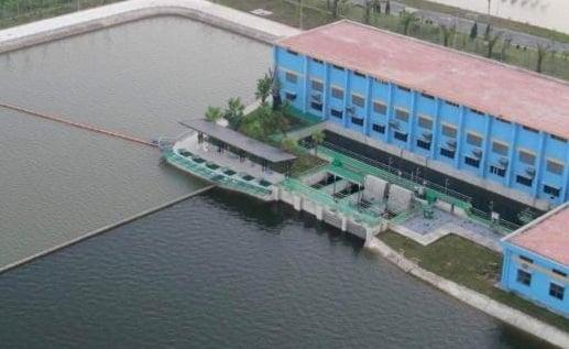 Xuất hiện hình ảnh sân tập golf trong Nhà máy nước mặt sông Đuống của Shark Liên?