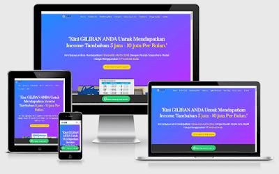 Website Landing Pages Bisnis Online 3i Networks Singapura