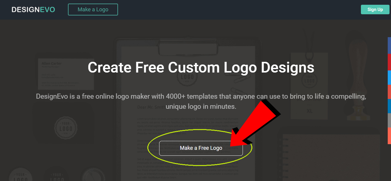 how to make free professional website logo - blogger  wordpress  wapka