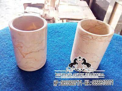 Peralatan Mandi Marmer, Aksesoris Kamar Mandi Unik, Bathroom Set Marmer