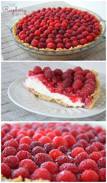 raspberry pie with graham cracker crust