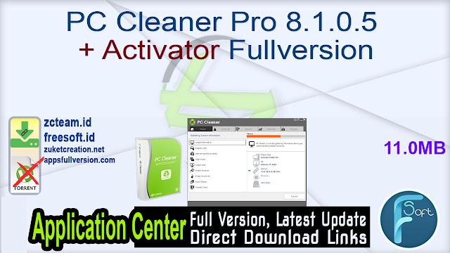 PC Cleaner Pro 8.1.0.5 + Activator Fullversion