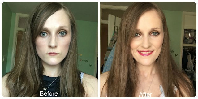 before and after salon science gsp-t swiss grape shampoo and conditioner