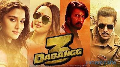 Dabangg 3 (2019) Hindi 480p
