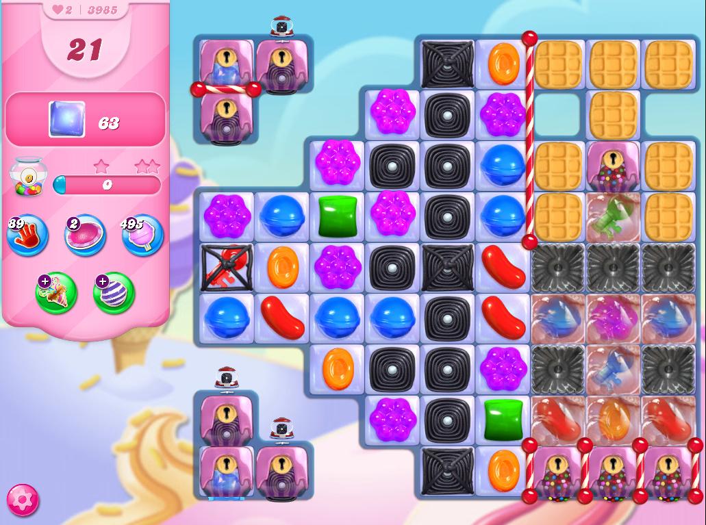 Candy Crush Saga level 3985