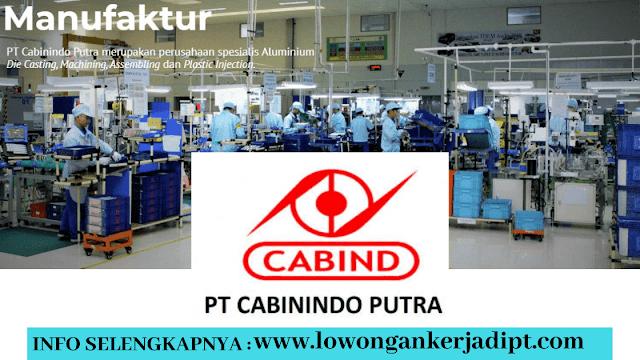 Lowongan Kerja PT Cabinindo Putra Indonesia Via Online