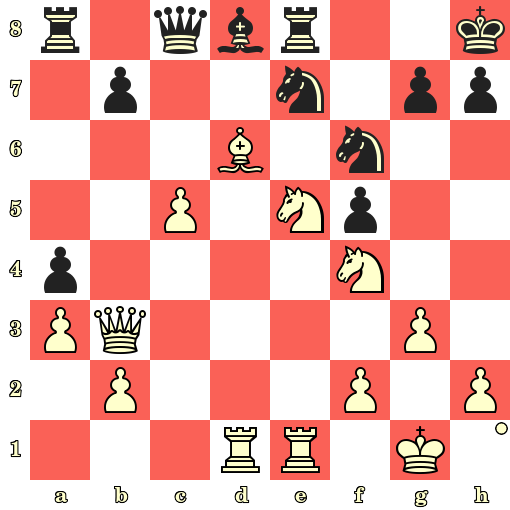 Les Blancs jouent et matent en 4 coups - Wilfried Paulsen vs Eduard Hammacher, Francfort, 1878